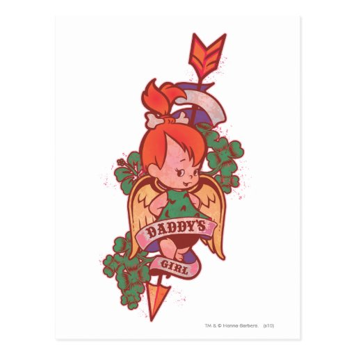 PEBBLES™ Daddy's Girl  1 Postcard