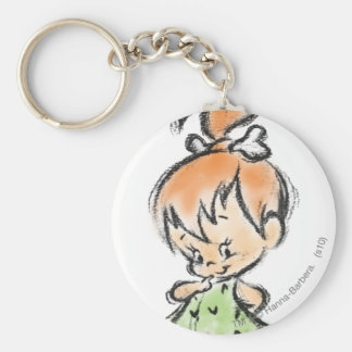 PEBBLES™ - Hand Done Keychain