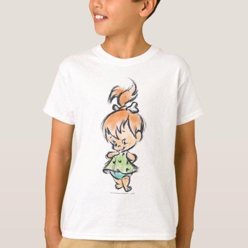 PEBBLESâ _ Hand Drawn Sketch T_Shirt
