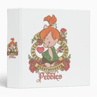 Pebbles Heartbreaker 2 3 Ring Binder