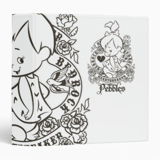 PEBBLES™ Heartbreaker B&W Binder