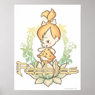 PEBBLES™ in Lotus Flower Poster