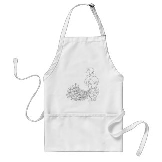 PEBBLES™ In Peacock Adult Apron