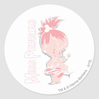 PEBBLES™ in Pink Sticker