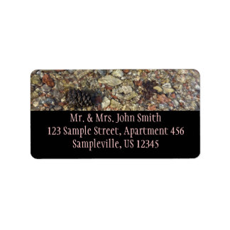 Pebbles in Taylor Creek Address Label