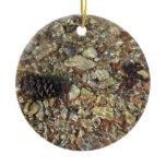 Pebbles in Taylor Creek Ornament