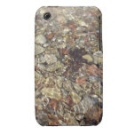 Pebbles in Taylor Creek Water Nature Photography iPhone 3 Case