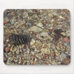 Pebbles in Taylor Creek Water Nature Photography Mouse Pad