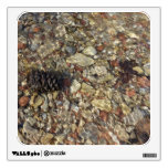 Pebbles in Taylor Creek Water Nature Photography Room Sticker