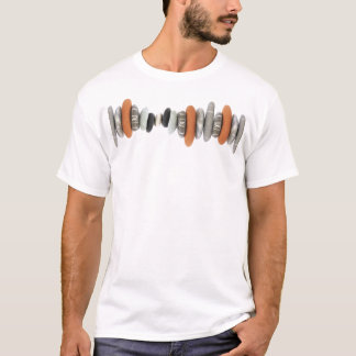 Pebbles line T-Shirt