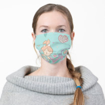 PEBBLES™ Love Swirls Adult Cloth Face Mask
