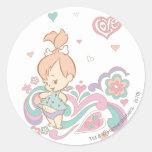 PEBBLES™ Love Swirls Sticker