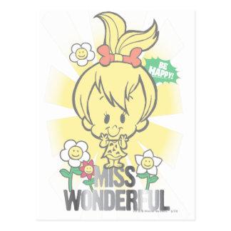 PEBBLES™ Miss Wonderful Post Card