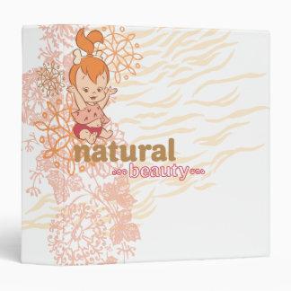 PEBBLES™ Natural Beauty Vinyl Binder