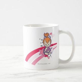 PEBBLES™ on Pink Rainbow Coffee Mug