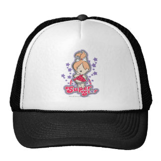 PEBBLES™ On Pink Rainbow Trucker Hat