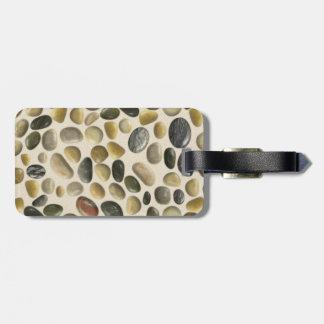 Pebbles on Sand Luggage Tag