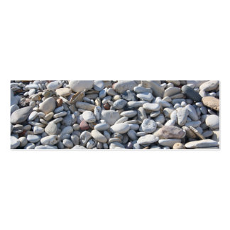 Pebbles on the Beach  Bookmark/Business Card