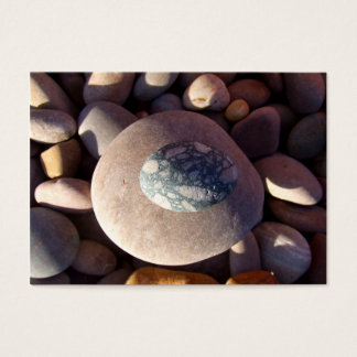 Pebbles On The Beach Business Card