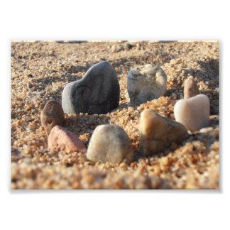 Pebbles on the Beach Photo