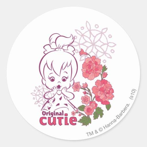 PEBBLES™ Original Cutie Classic Round Sticker