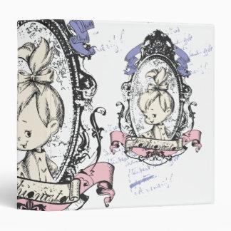 PEBBLES™ Pretty In Reflection Vinyl Binder
