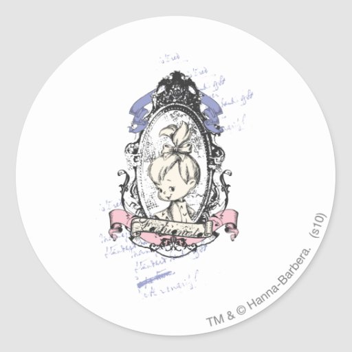 PEBBLES™ Pretty In Reflection Round Stickers