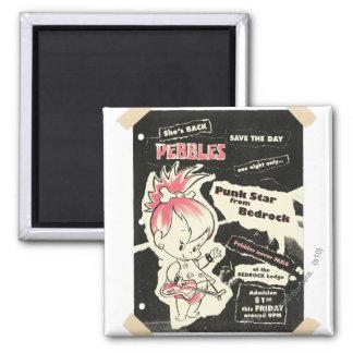 PEBBLES™ Punk Rock Legend Magnet