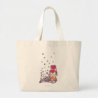 PEBBLES™ Purple Heart Canvas Bag