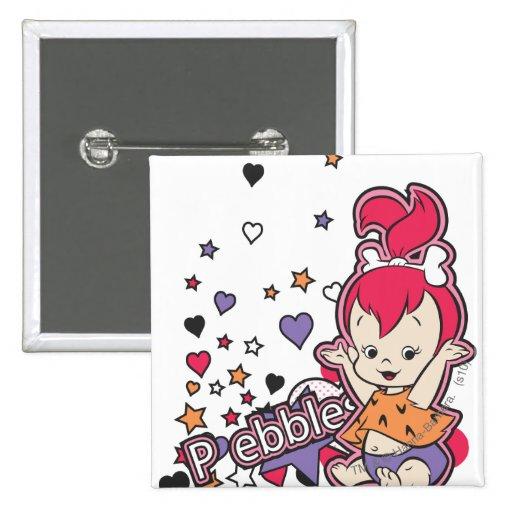 PEBBLES™ Purple Heart Button