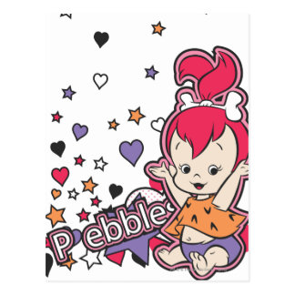 PEBBLES™ Purple Heart Postcard