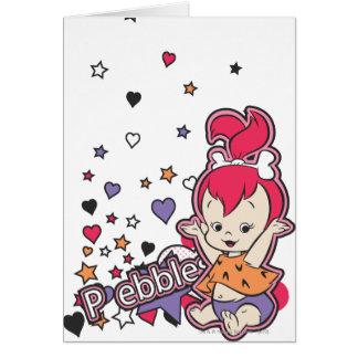 PEBBLES™ Purple Heart Felicitacion