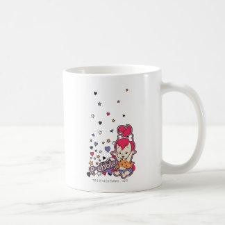 PEBBLES™ Purple Heart Taza De Café
