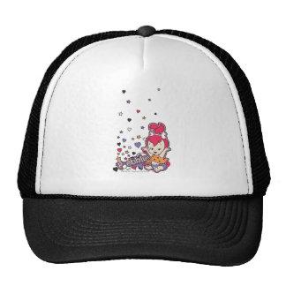 PEBBLES™ Purple Heart Trucker Hat