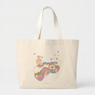 PEBBLES™ Rainbow Cloud Canvas Bag