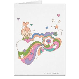 PEBBLES™ Rainbow Cloud Card