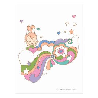 PEBBLES™ Rainbow Cloud Postcard