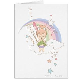 PEBBLES™ Rainbow Stars Card
