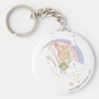 PEBBLES™ Rainbow Stars Keychain