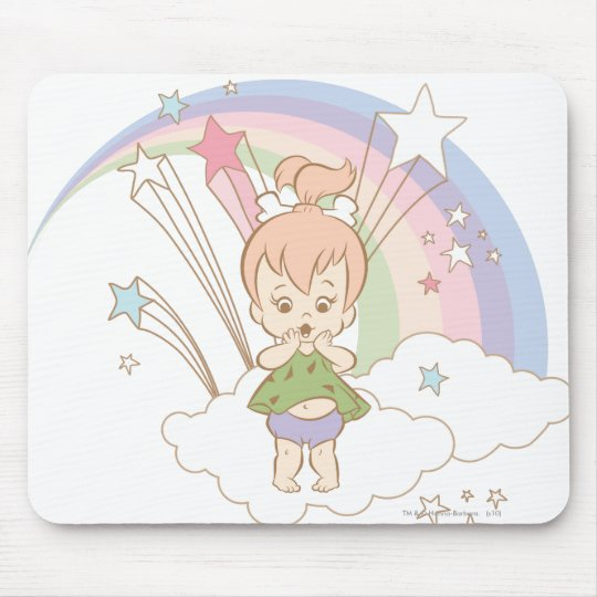 PEBBLES™ Rainbow Stars Mouse Pad