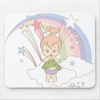 PEBBLES™ Rainbow Stars Mouse Pad