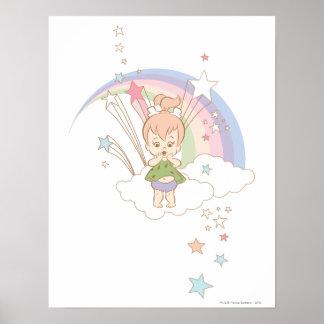 PEBBLES™ Rainbow Stars Poster