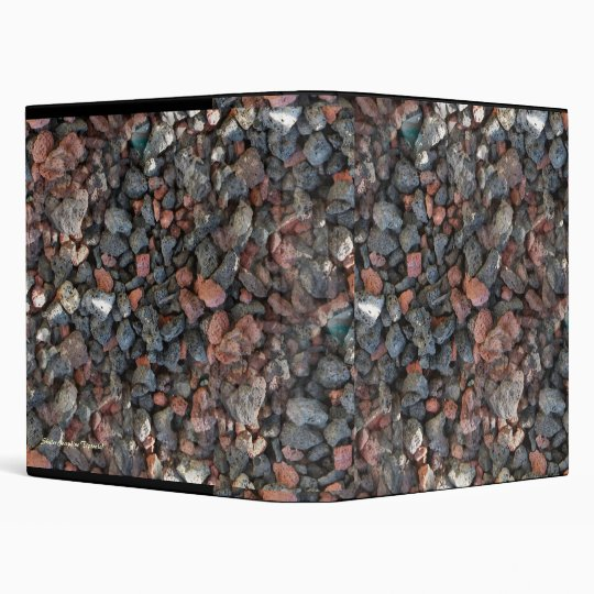 Pebbles Rock Binder