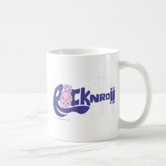 PEBBLES™ Rock N Roll Classic White Coffee Mug