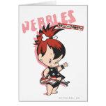 Pebbles Rock Star Greeting Card