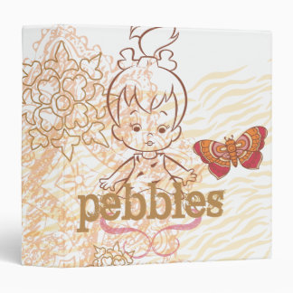 PEBBLES™ Sandy Design 3 Ring Binder