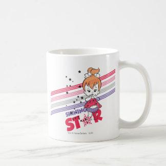 PEBBLES™ Shining Stars Classic White Coffee Mug