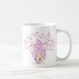 PEBBLES™ Star Print Classic White Coffee Mug