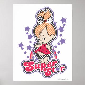 PEBBLES™ Super Star Poster