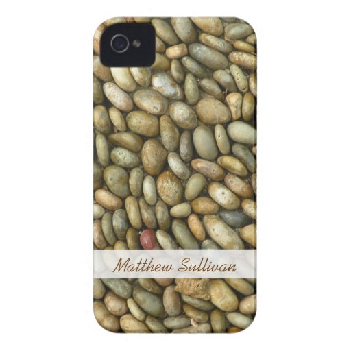 Pebbles Texture iPhone 4 Barely There Case